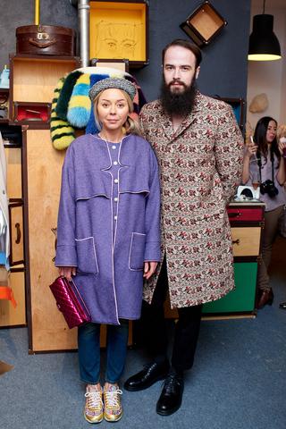 Презентация  коллекции The Coat SK на Ukrainian Fashion Week
