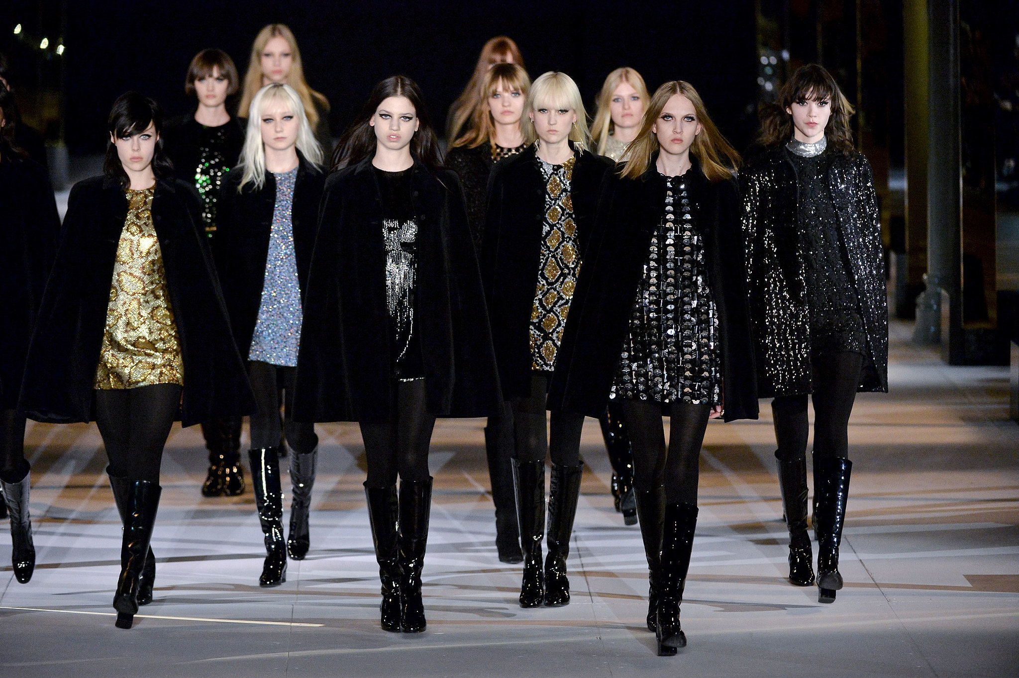 Saint Laurent Fall 2014 Final