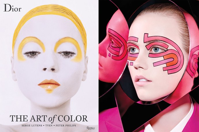 Все о макияже в новой книге Dior: The art of color